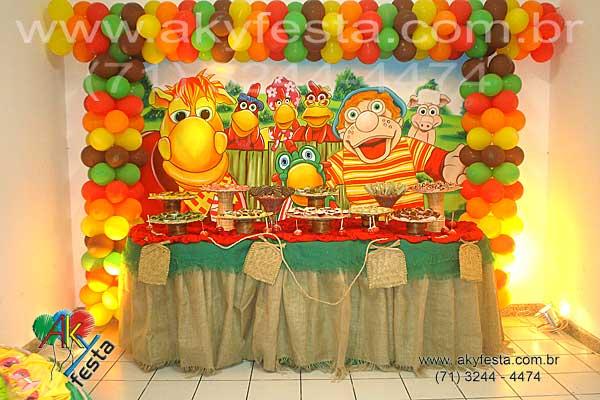 Festa Infantil - Tema Turma do Chaves